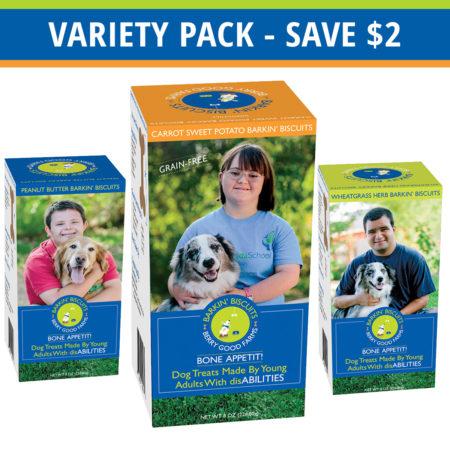 Barkin Biscuits Variety Pack
