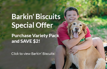 Call Now to order Barkin' Biscuits! 904.724.8323